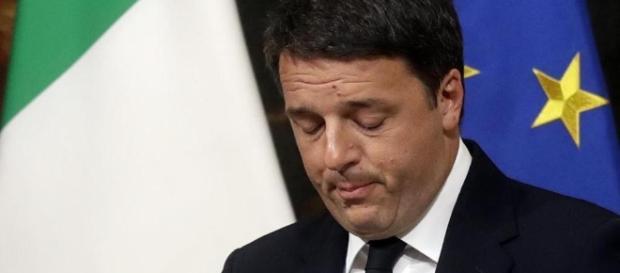 Renzi dopo l'esito del referendum