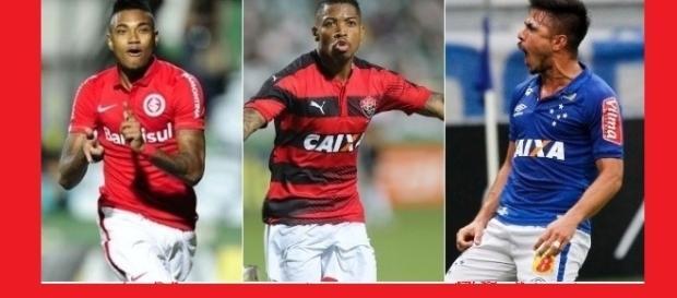 Vitinho, Marinho e William são opções para o ataque do Flamengo