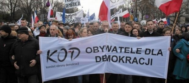 KODziarze nadal w akcji (fot. gazeta.pl)