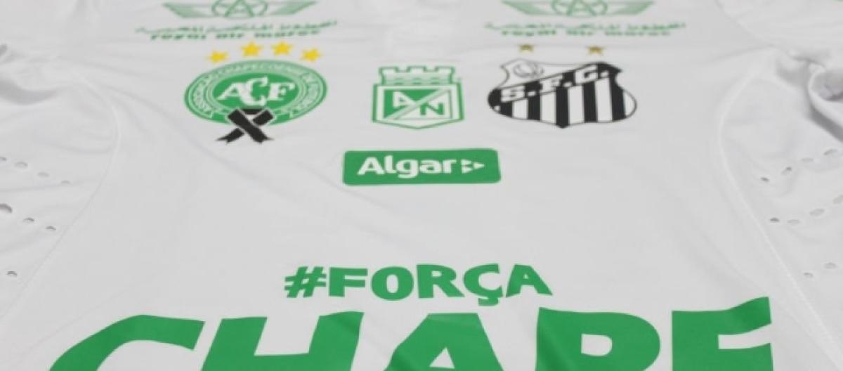 e14e55c5b1 Santos presta homenagem à Chape e usará verde contra América-MG