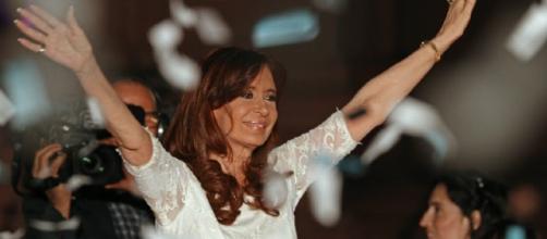 Cristina Fernández de Kirchner en su último discurso