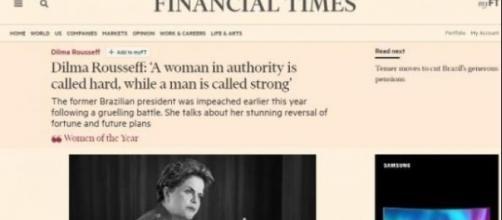 Dilma Rousseff foi um dos destaques da revista