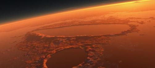 Gli scienziati cercano tracce di vita sul pianeta rosso