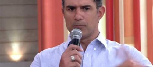 """Marcos Pasquim revela transtorno no programa """"Encontro"""" (foto: TV Globo/Reprodução)"""