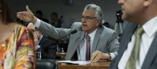 Para Caiado, empresa é usada para propaganda política (foto: divulgação/Facebook)