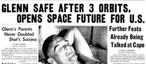 Where Were You When John Glenn Orbited? | David Reneke | Space and ... - davidreneke.com