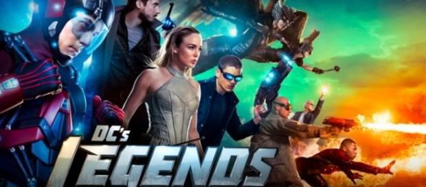 Legends of Tomorrow tv show logo image via Flickr.com