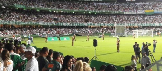 Quase trinta mil torcedores unidos pela Chapecoense