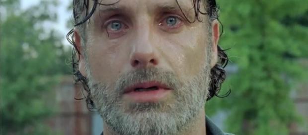 Rick Grimes no 8º episódio da 7ª temporada de The Walking Dead