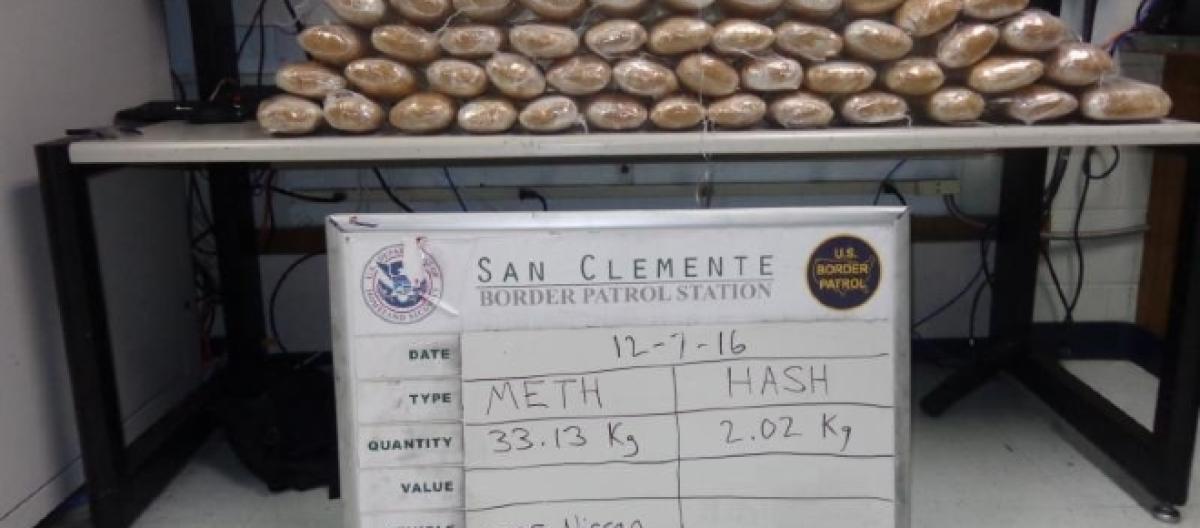 US Border Patrol seizes $1 7 million worth of drugs in