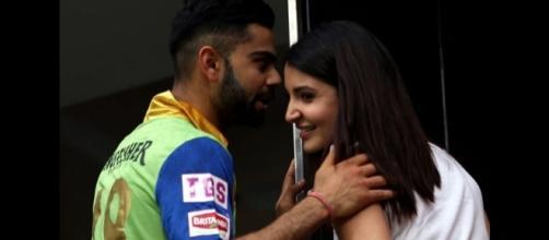 Anushka Sharma and Virat Kohli (Ind vs Eng 4th Test).. - firstpost.com