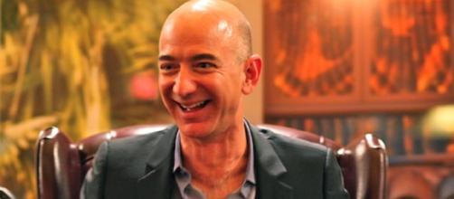 Jeff Bezos courtesy of Yolo0906 on Wikimedia Commons