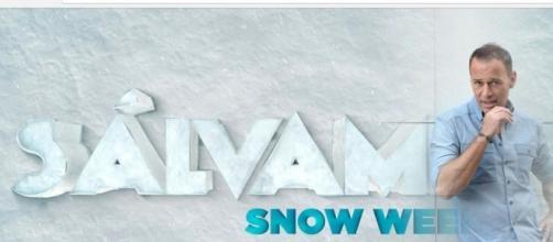 Pilar Soto y Antonio Tejado en la 'Sálvame snow week'