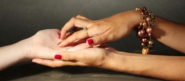 A quiromancia é uma técnica muito usada para leitura das linhas das mãos.