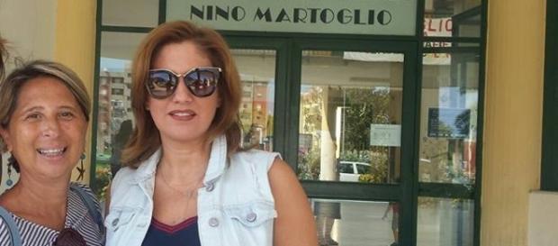 Antonella Gurriero e Simona Princiotta alla Martoglio