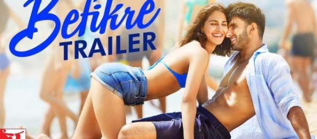 Befikre Official Trailer is Full of romance - reviews - Bollywood ... - bollywoodchicks.com