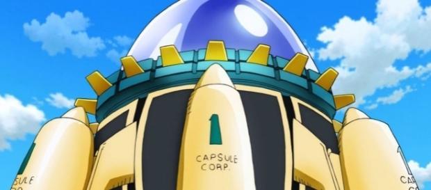 La máquina del tiempo - Dragon Ball.