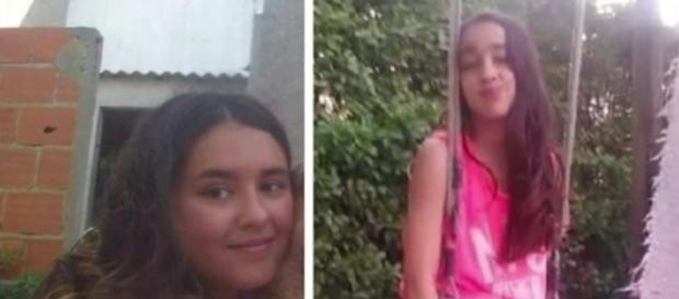 Lígia e Inês morreram atropeladas por trem