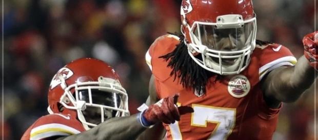 Os Chiefs agora lideram a divisão AFC Oeste (Foto: Reprodução/Twitter/NFL Brasil)