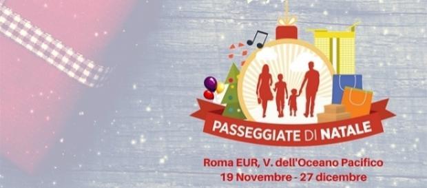 Passeggiate di Natale all'EUR a Roma