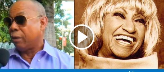 """Sobrino de Celia Cruz molesto por la historia """"mal contada"""" de la ... - cibercuba.com"""