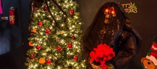 This is the third annual Scary Christmas party/Photo by Brian Erzen via Seraph Films