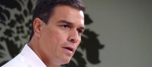 Pedro Sánchez, candidato a la presidencia.