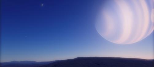 Foto 1: Una hipótetica Pandora en MOA-2011-BLG-262