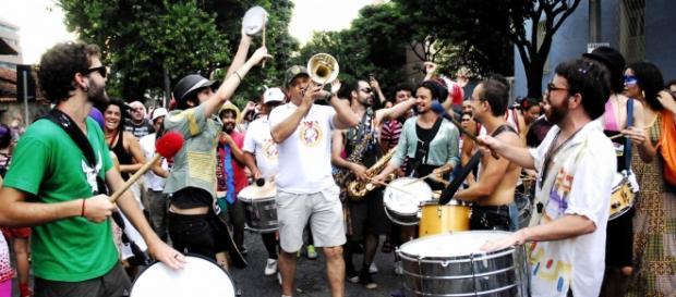 Bloco do Peixoto no Carnaval de BH / Flávia Mafra