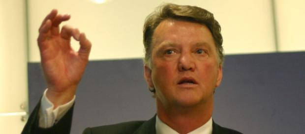 Louis Van Gaal, entrenador del Manchester United