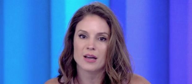 Maíra Chaken no Vídeo Show / Reprodução Rede Globo