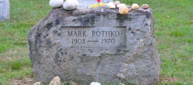Mark Rothko grave site (Wikipedia)