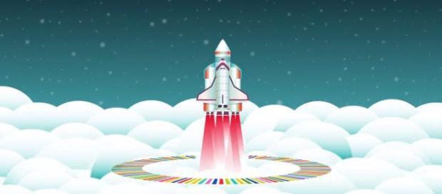 O foguetão revela o cartaz dia 4 de fevereiro.