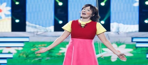 Silvia Abril imitó a Heidi en 'TCMS4'