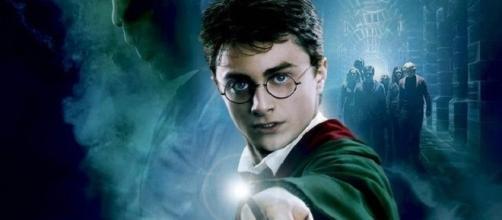 Daniel Radcliffe en un poster de 'Harry Potter'