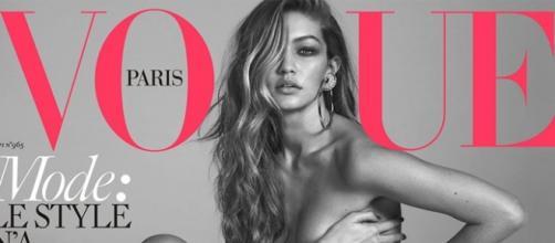 Gigi Hadid é a mais nova capa da Vogue francesa