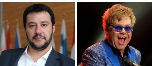 Salvini umilia Elton Jhon e la Rai.