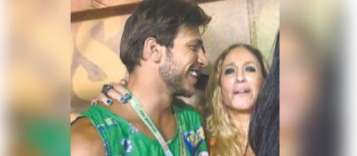 Susana Vieira é flagrada com novo namorado