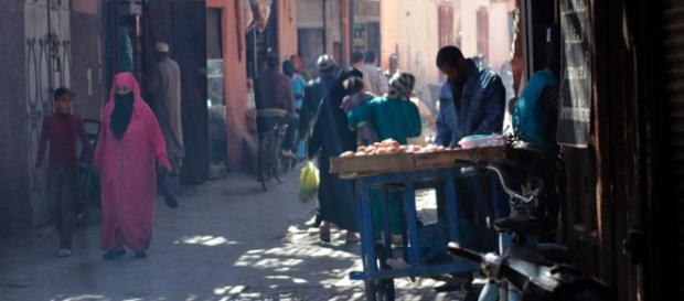 Calles de Marrakech. Cultura, olores y sabores