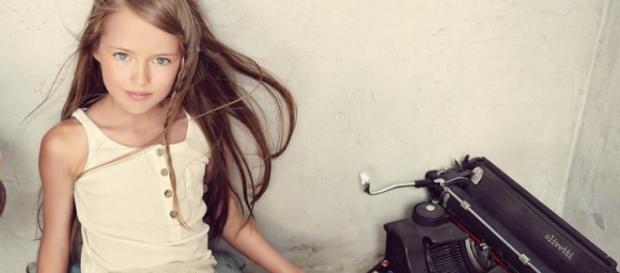 Kristina Pimenova, la modelo profesional más joven