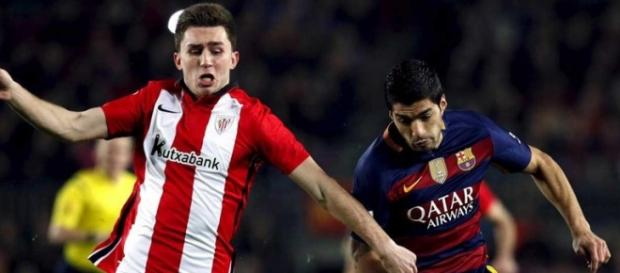 Laporte, zagueiro do Athletic Bilbao