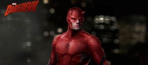 Primer diseño de Daredevil por Josh Nizzi