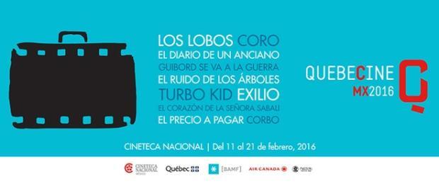 Quebecine Mx 2016 celebra en Cineteca Nacional