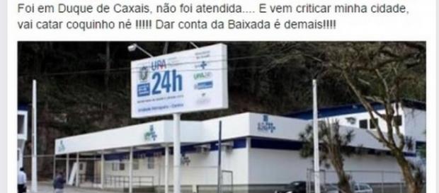 Declaração da Secretária de Saúde de Petrópolis