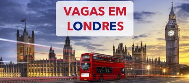 Vagas em Londres. Foto: Guia Viajar Melhor.