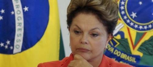Dilma está preocupada. Foto: Internet