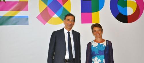 Il candidato del PD per Milano, Giuseppe Sala