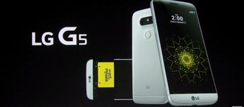 Il nuovo design full-metal di LG G5