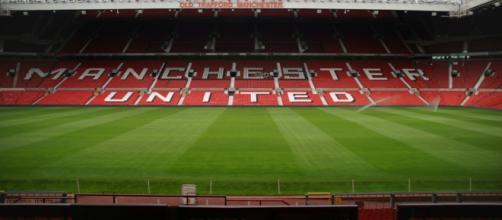 Manchester United football stadium (Wikipedia)