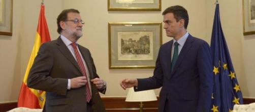 Rajoy niega el saludo a Sánchez / Vía ELMUNDO